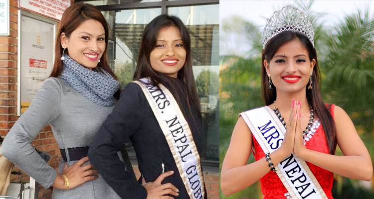 Apsara Basnet Mrs Globe 2015