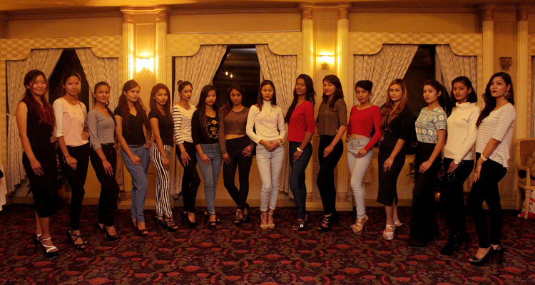 fashion show in nepal