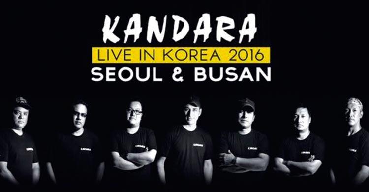 Kandara Live in Korea 2016