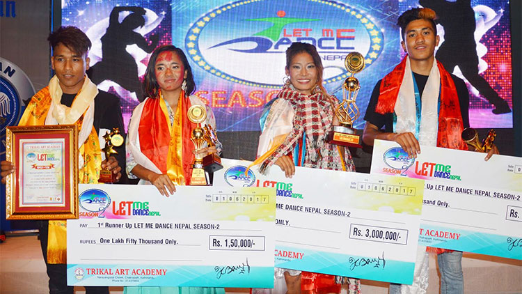 Let me Dance Nepal Season 2 Winners