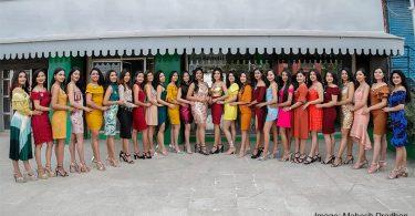 Miss Nepal 2019 Participants
